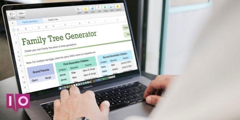 Les Meilleurs Modeles D Arbres Genealogiques Gratuits Pour Microsoft Word Et Excel Family Tree Excel Free Family Tree Template Family Tree Template