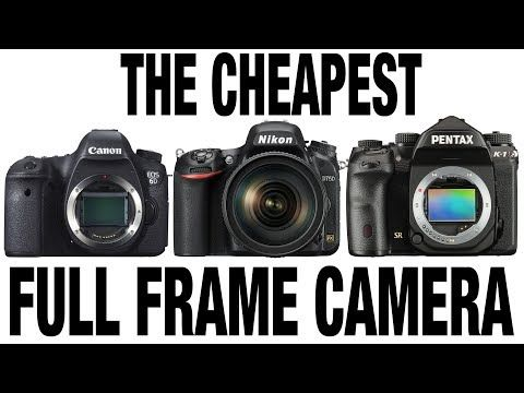 The Cheapest Full Frame Camera Watch This Before Buying Canon Nikon Pentax Sony Youtube Camera Watch Full Frame Camera Pentax