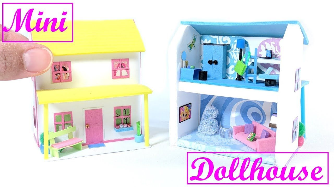 Diy Miniature Dollhouse Doll House Crafts Diy Dollhouse Furniture Dollhouse Miniatures