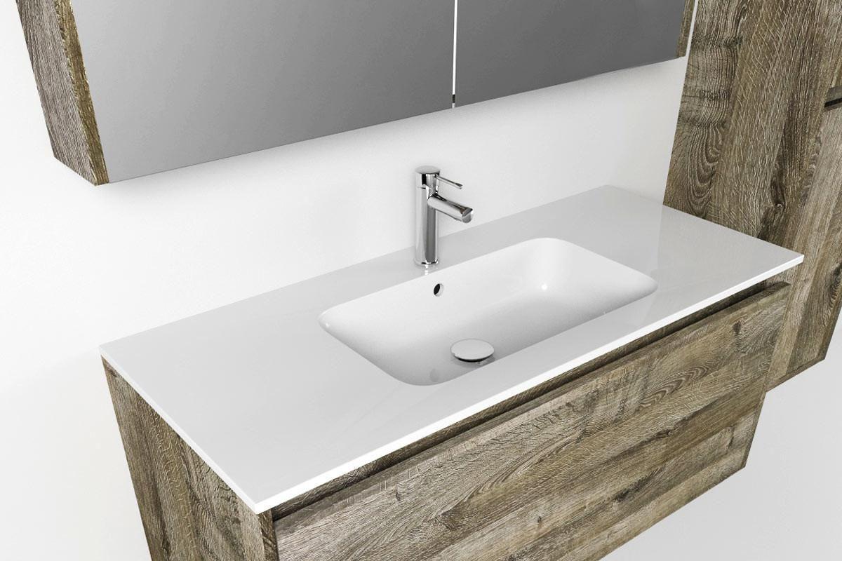 Waschbecken mit unterschrank, Fantastische Ideen Waschtisch Mit Unterschrank 60 Cm Weiß ...