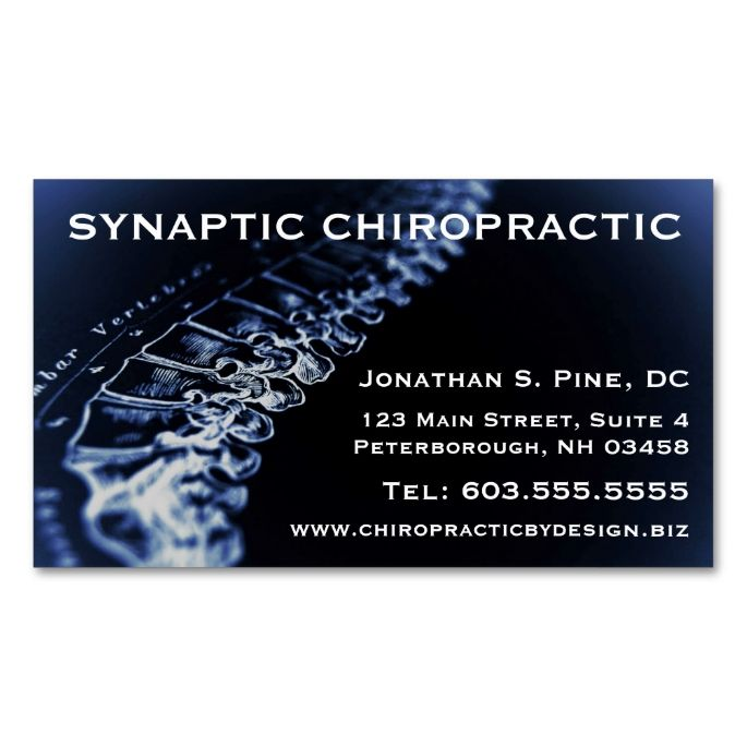 Chiropractor Appointment Cards Zazzle Com Appointment Cards Business Card Design Standard Business Card Size