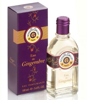 Eau de Gingembre by Roger & Gallet scented with two of my faves, bergamot and ginger
