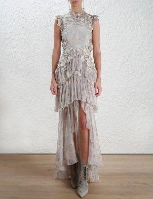Stranded Tier Dress