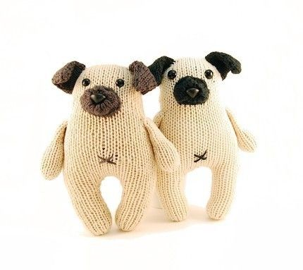 Stuffed Pug Patterns - Bing Images | Knitted toys free ...