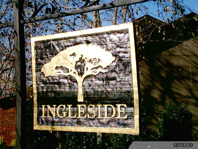 Custom Outdoor Signage Outdoor Routed Wood Signs Signs By Tomorrow Wooden Sandblasted