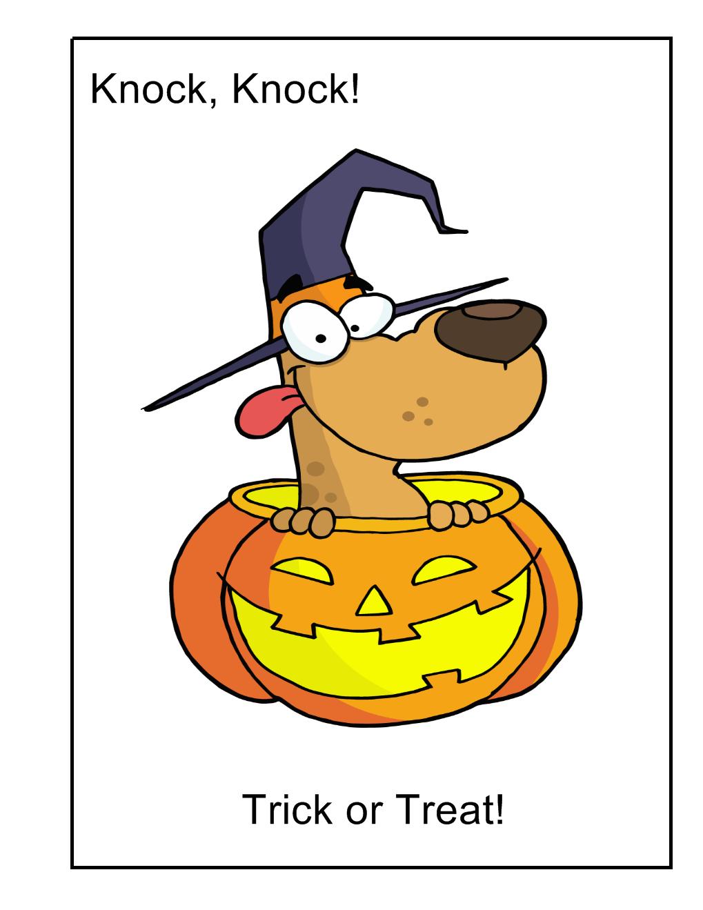 Halloween Joke Cards Halloween activities for kids