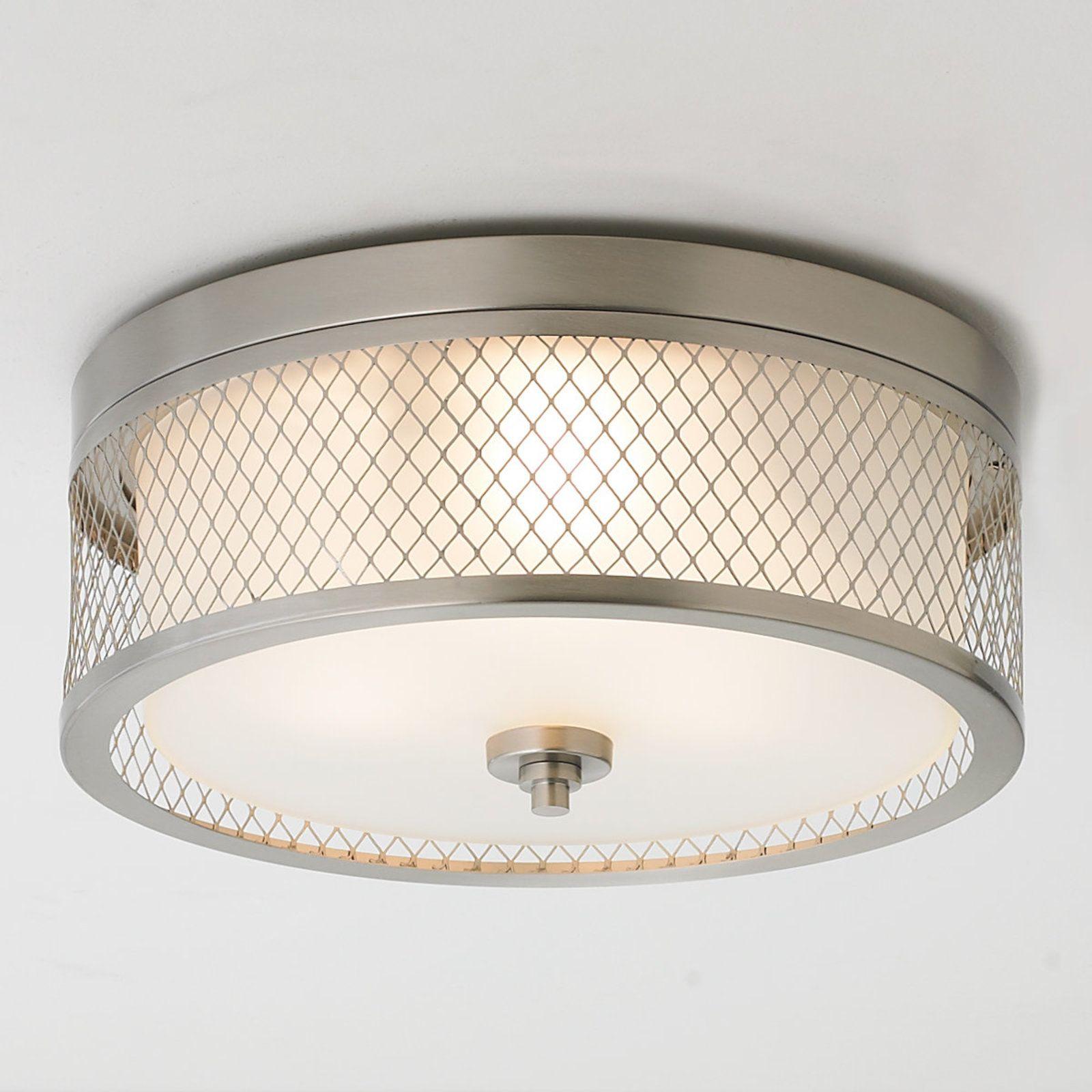 Lattice Screen Double Drum Ceiling Light