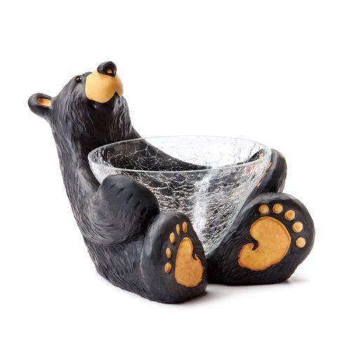 Bearfoots Bears Sweetie Candy Dish Bearfoots Bears By Jeff Fleming Http Www Amazon Com Dp B00hzxcwkg Ref Cm Sw R Bearfoots Bears Bear Decor Black Bear Decor