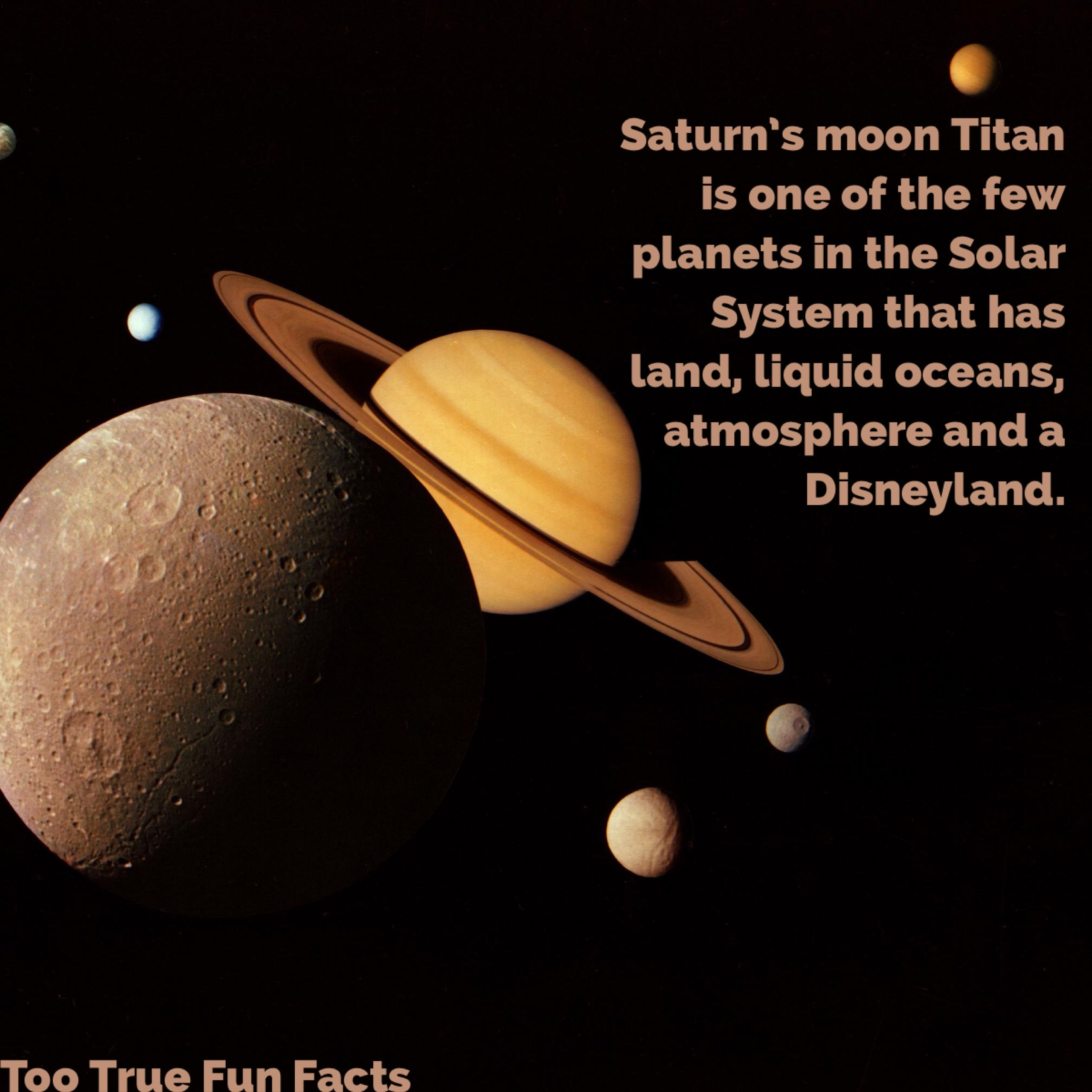 what are interesting facts about saturn