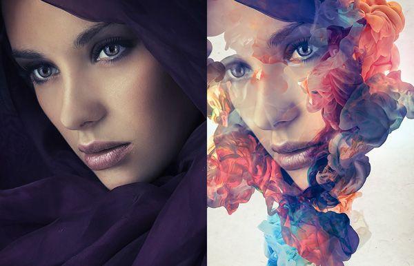 Paint An Amazing Watercolor Portrait Photoshop Watercolor