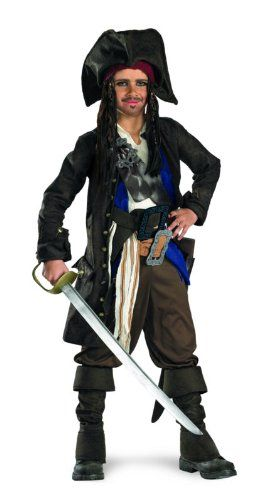 Pirate Dress Up Costume  sc 1 st  Pinterest & Pirate Dress Up Costume | Captain jack sparrow
