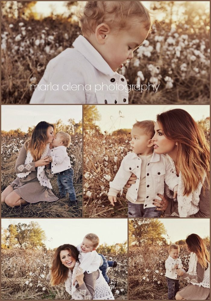 Me And My Baby S Fall Mommy Son Photoshoot In A Cotton Field