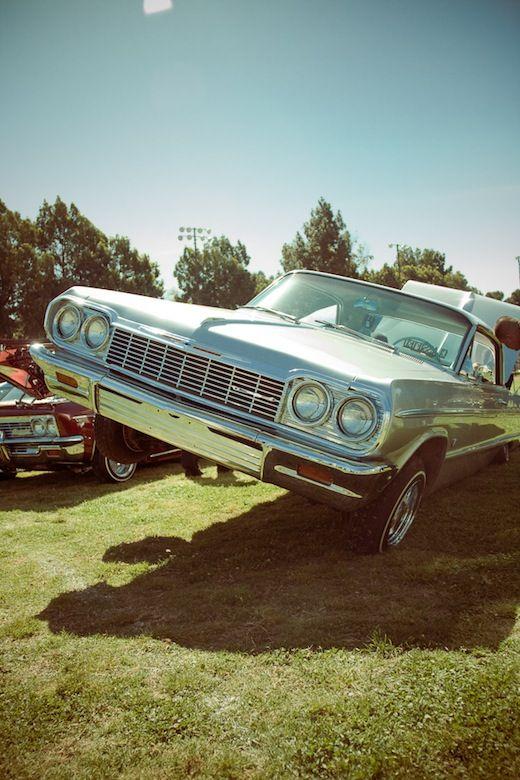 Lowrider Impala With Hydraulics Lowriders Pinterest Impala