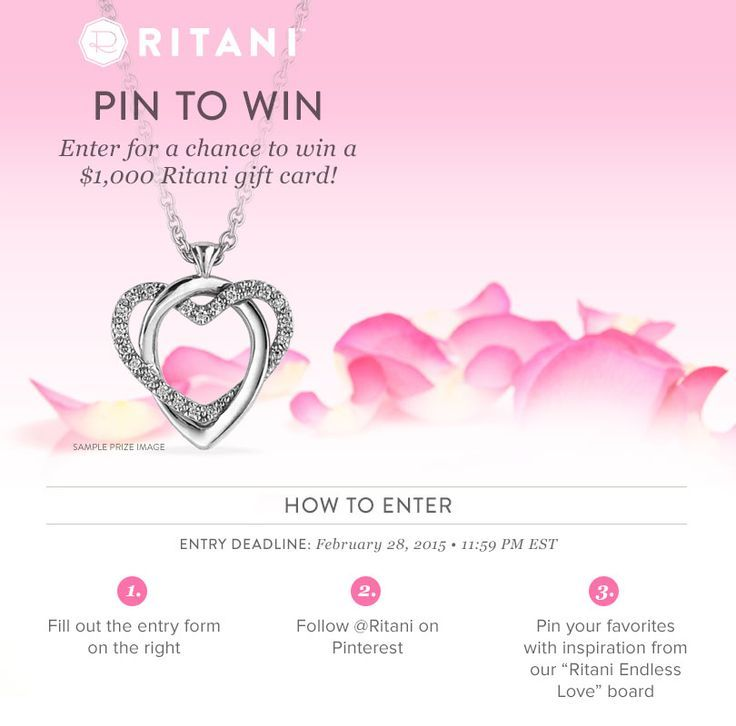 Click For Your Chance To Win A  Gift Card From Ritani