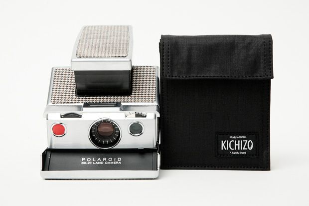 IMPOSSIBLE x Kichizo by Porter Classic Camera Bag and Film Pouch.