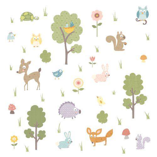 RoomMates Stickers muraux repositionnables Enfant Animaux de la forêt Jomoval http://www.amazon.fr/dp/B002WRGYJA/ref=cm_sw_r_pi_dp_xADCvb0KSE6SZ