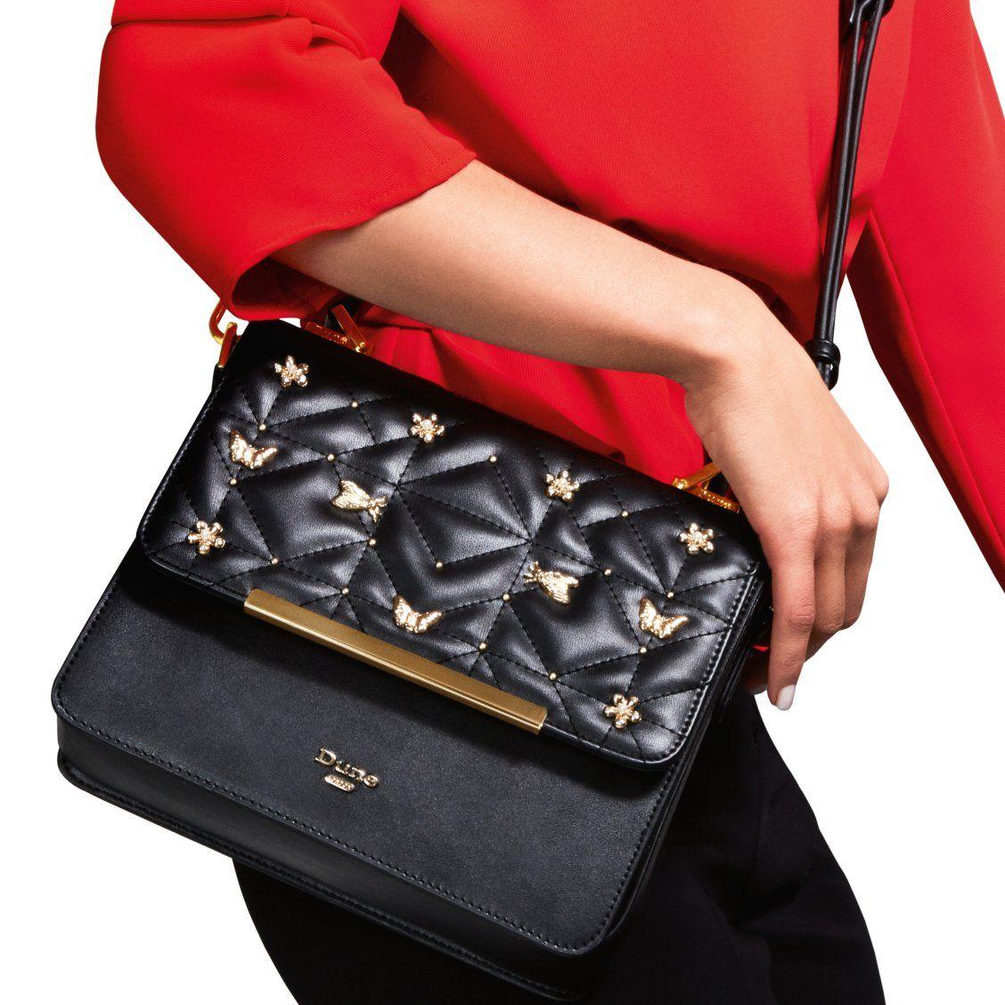 ba370f2146537 DUTTERFLY - Butterfly Detail Box Bag