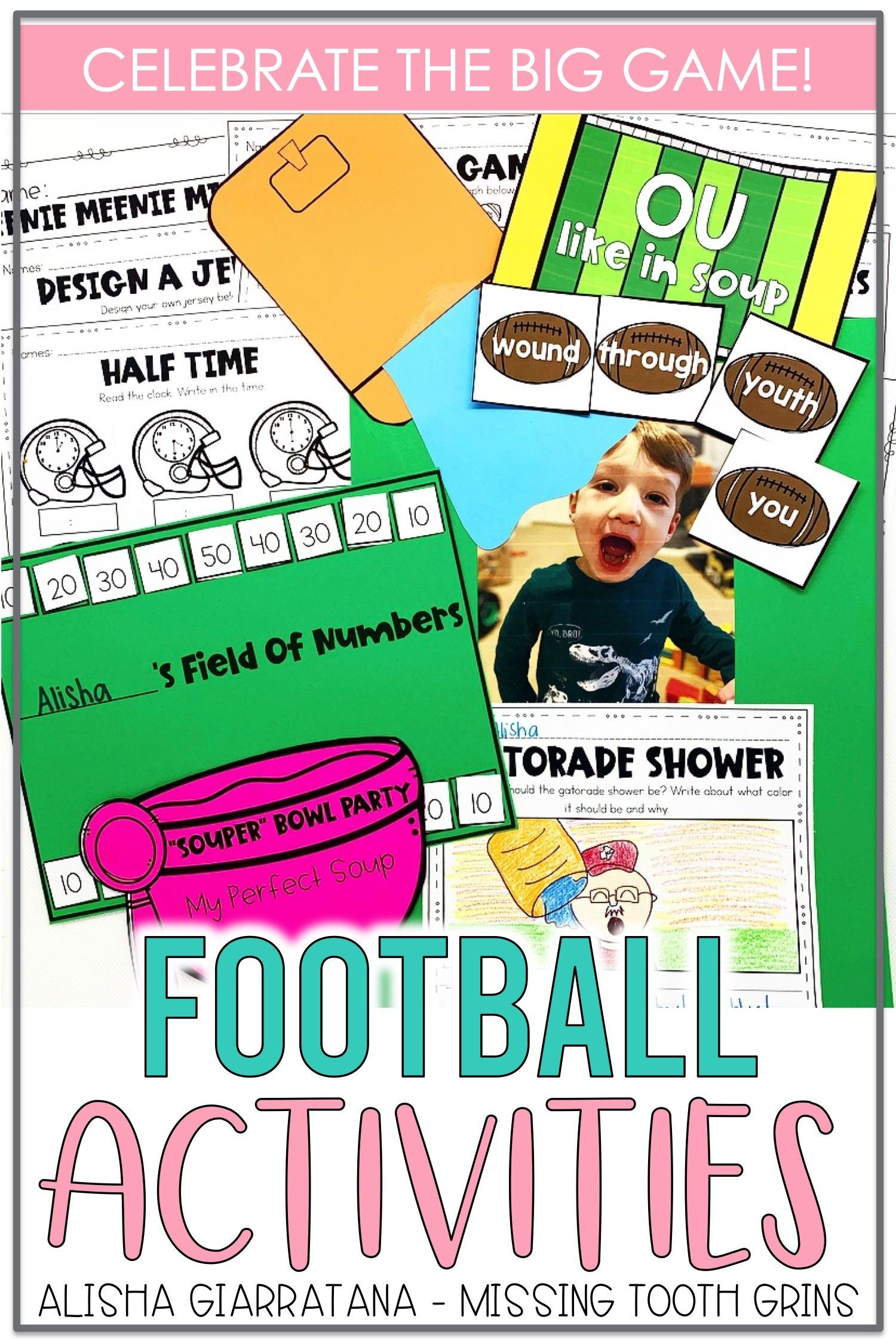 Football Activities In 2020 Teaching Math Strategies Reading Center Activity Struggling Math Students [ 2250 x 1500 Pixel ]