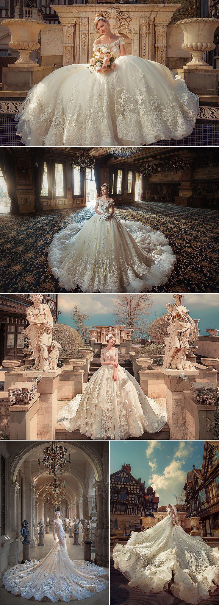 Wenn Sie Ihr Hochzeitskleid einkaufen, werden die Brautgeschäfte