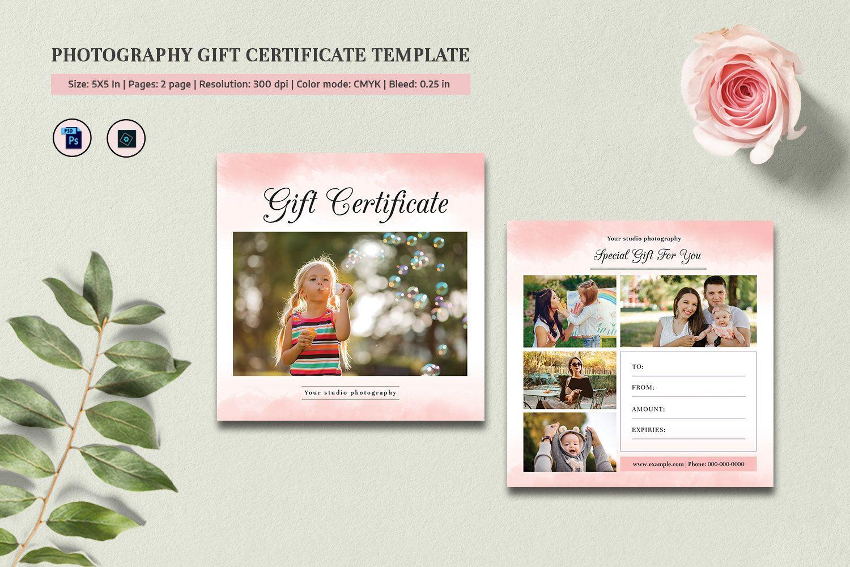 Park Art My WordPress Blog_Photography Gift Certificate Template Photoshop Free