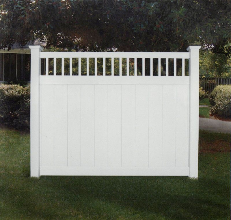 concord vinyl privacy fence with stake accent vinyl privacy fencing nationwide vinyl