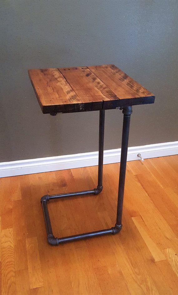 Mesa de ordenador port til tabla de extremo mobiliario pinterest mesa de ordenador - Mesa portatil ordenador ...