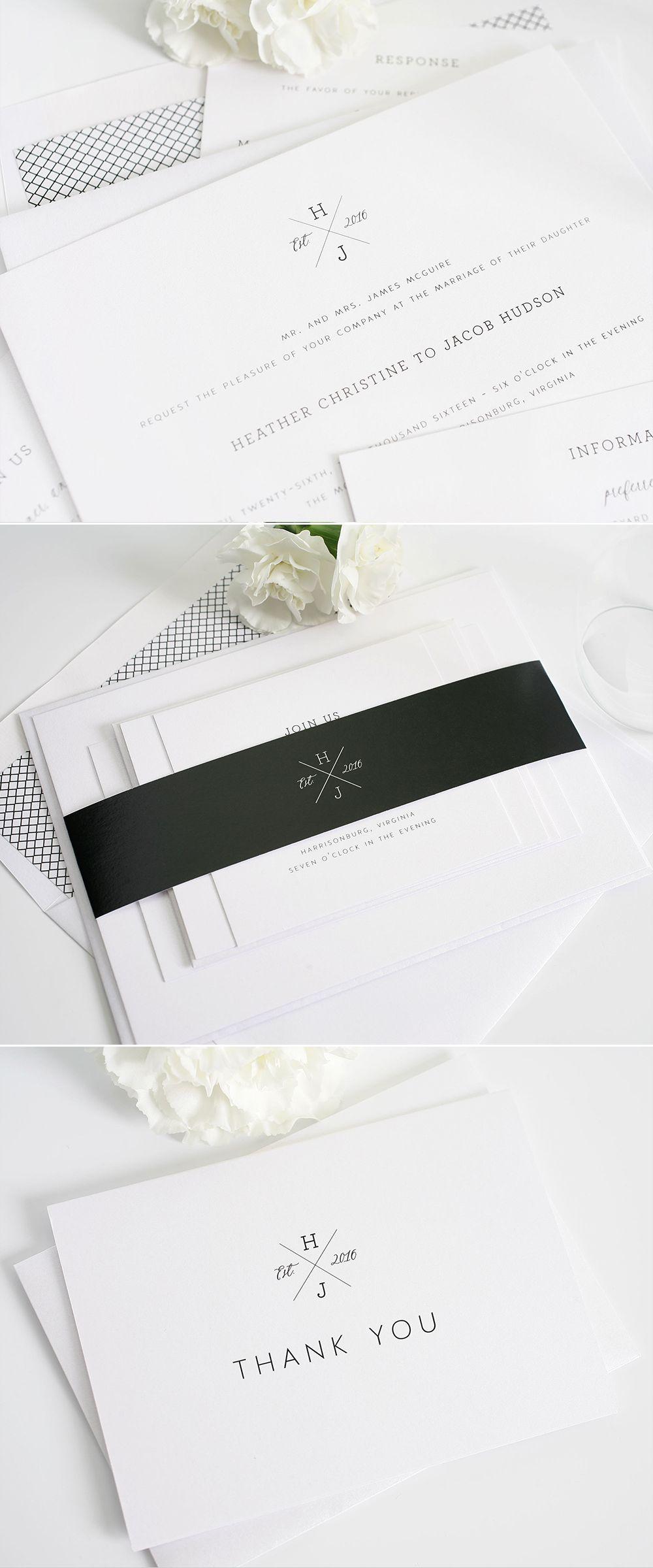 Cross Monogram Wedding Invitations. Karten DesignEinladungen Hochzeit BriefpapierKerstinEinladungskartenStempelMonogramm  HochzeitseinladungenHochzeitslogos ...