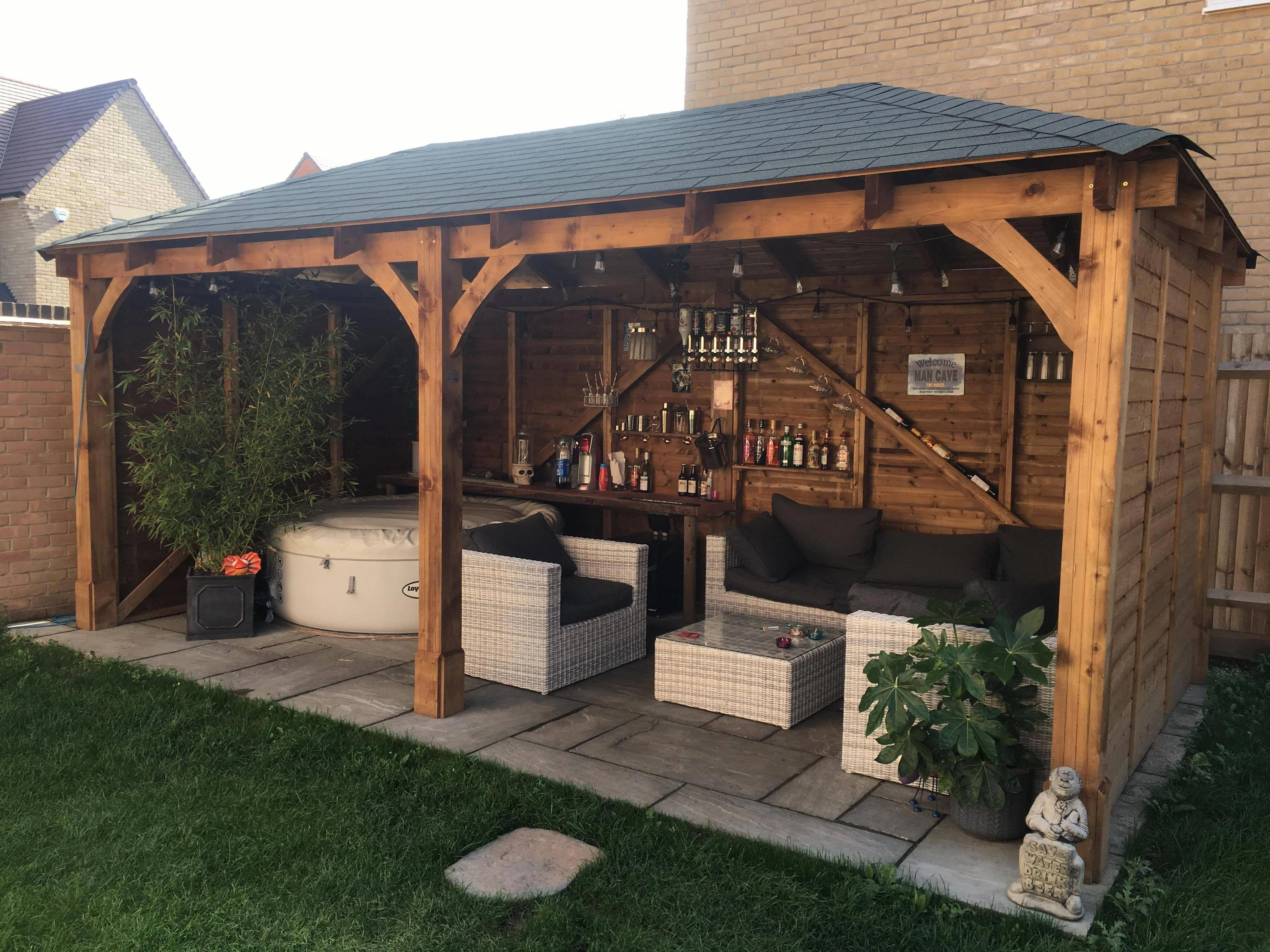 Gorgeous Photo Read Up On Our Short Article For Way More Ideas Patiogazebo Backyard Pavilion Backyard Gazebo Backyard Landscaping Designs Backyard landscaping ideas with gazebo