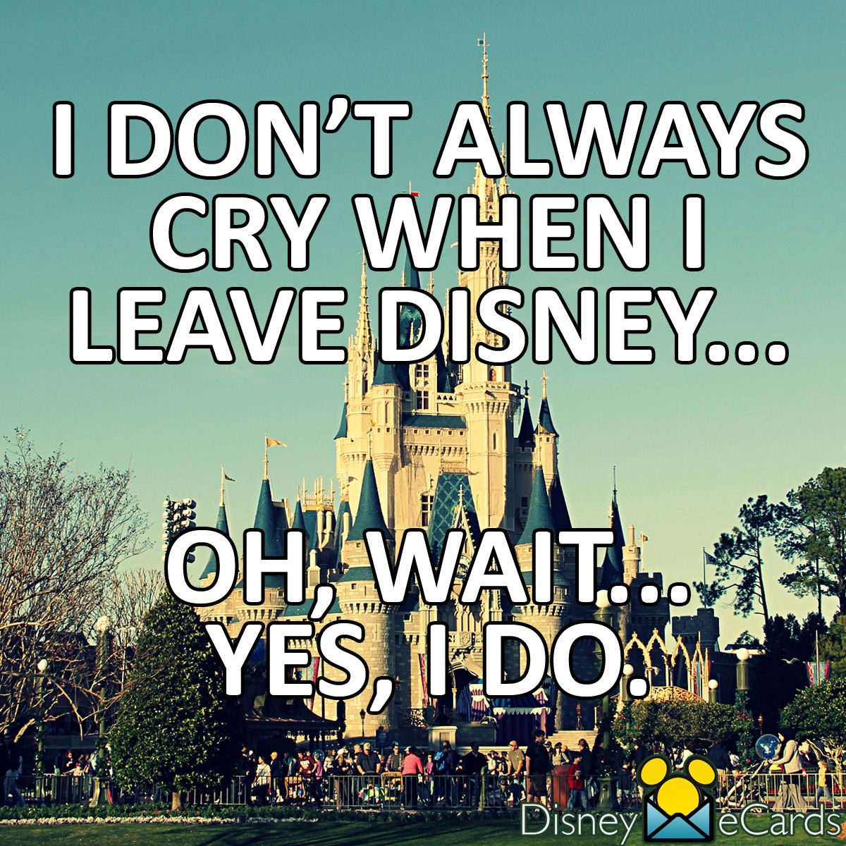 Christmas Vacation Quotes Leave You For Dead: Leaving Disney Is The Worst!