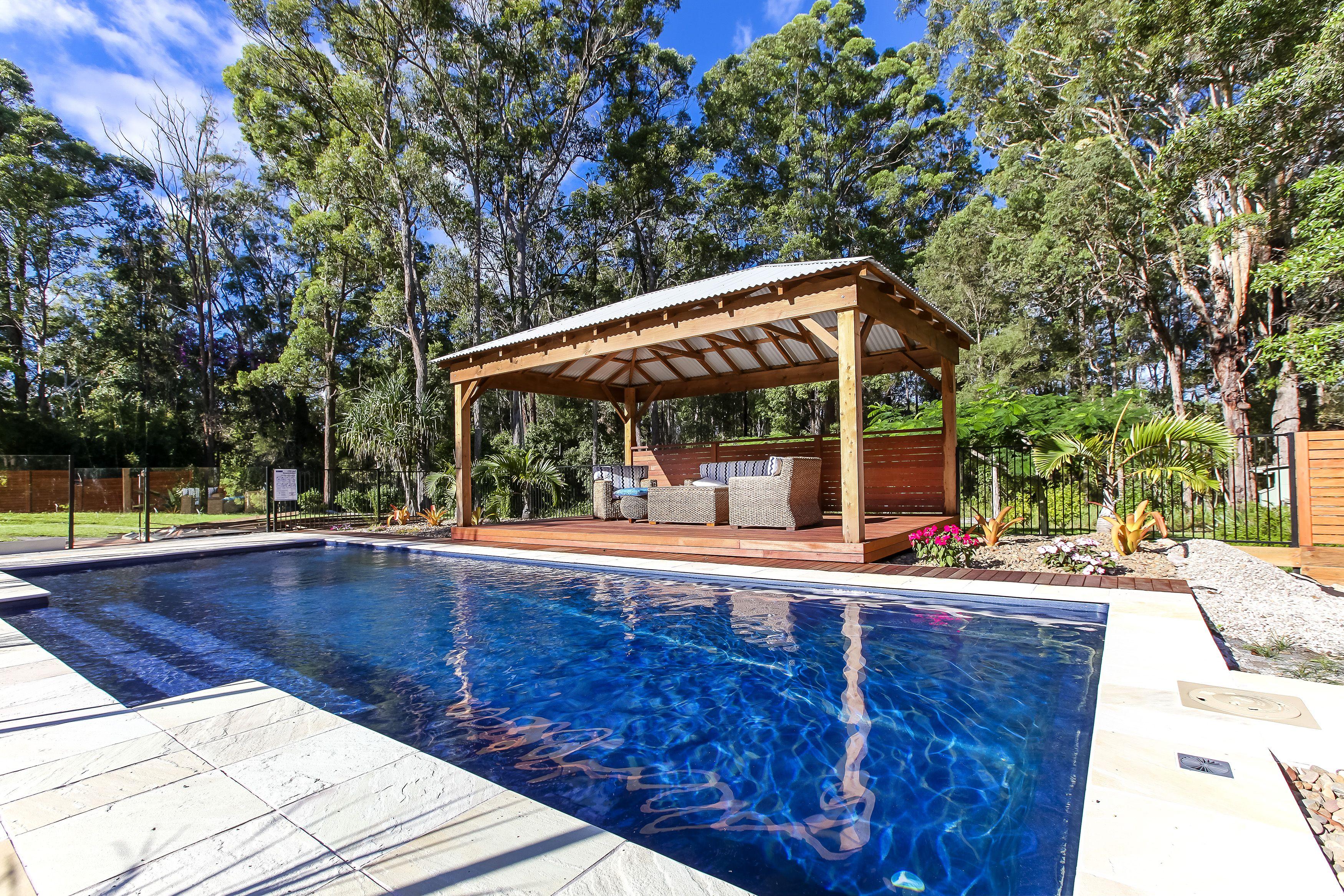 Madeira By Narellan Pools: Narellan Pools Sunshine Coast- Symphony Pool In Blue