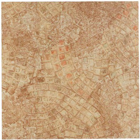 Nexus Ancient Beige Mosaic 12x12 Self Adhesive Vinyl Floor Tile 20 Tiles 20 Sq Ft Multicolor Vinyl Flooring Vinyl Tiles Vinyl Tile