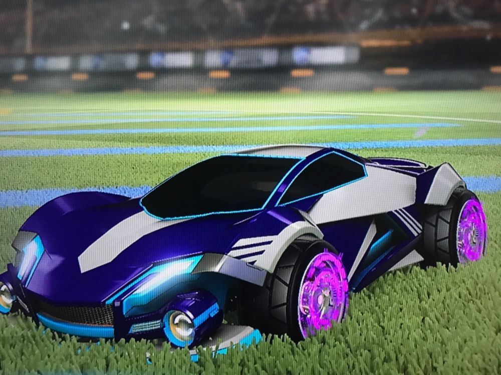 Rocket league xbox 1 werewolf car painted sky blue 125 00 end date