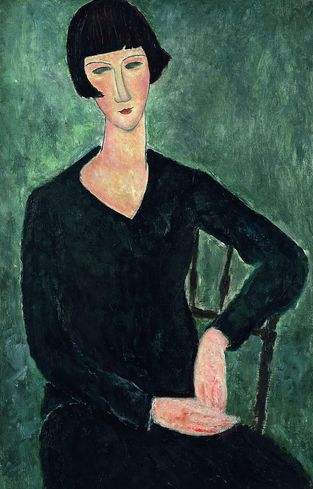 Modigliani    Google Image Result for http://www.huma3.com/repository/reviews/MODIGLIANI-Mujer%2520sentada%2520con%2520vestido%2520azul.jpg