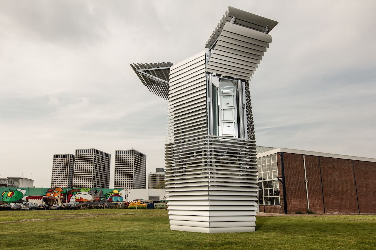 A 23FootTall Air Filter Is Turning Rotterdam's Smog into