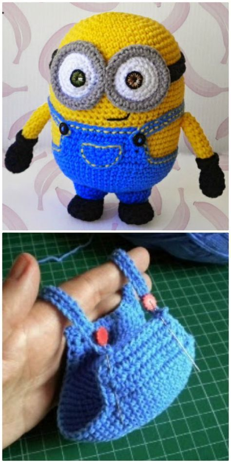 Minion Free Crochet Pattern Collection All The Best Ideas #minioncrochetpatterns You will love this Minion Free Crochet Pattern Collection and we have included all the best ideas that you will find. View all the ideas now. #minioncrochetpatterns