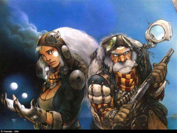 Heavy Metal Magazine Girls That S Savage Metal Comics Artist Art Comic Artist