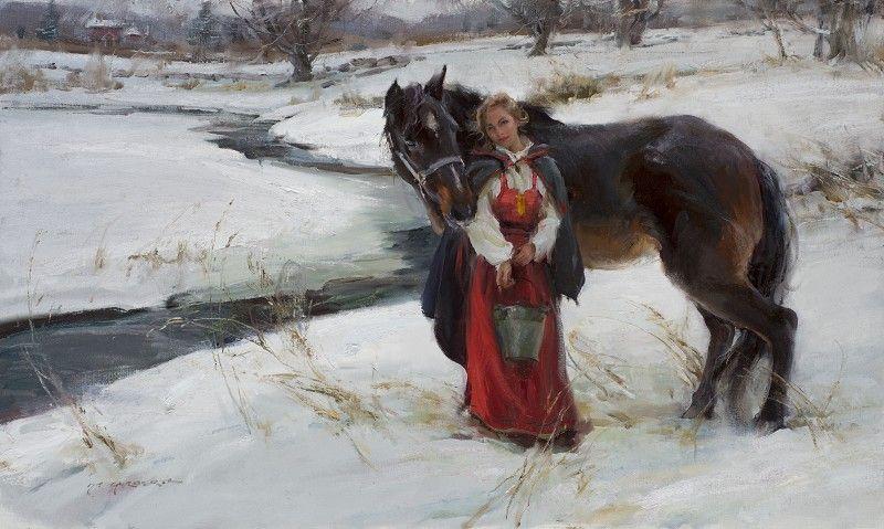Artist: Daniel F. Gerhartz - Title: The Rhythm of Winter
