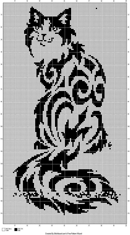 Photo of Calico Cats Cross Stitch Patterns