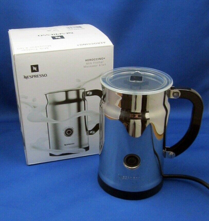 Nespresso Aeroccino Plus Stainless Steel Milk Frother 3192