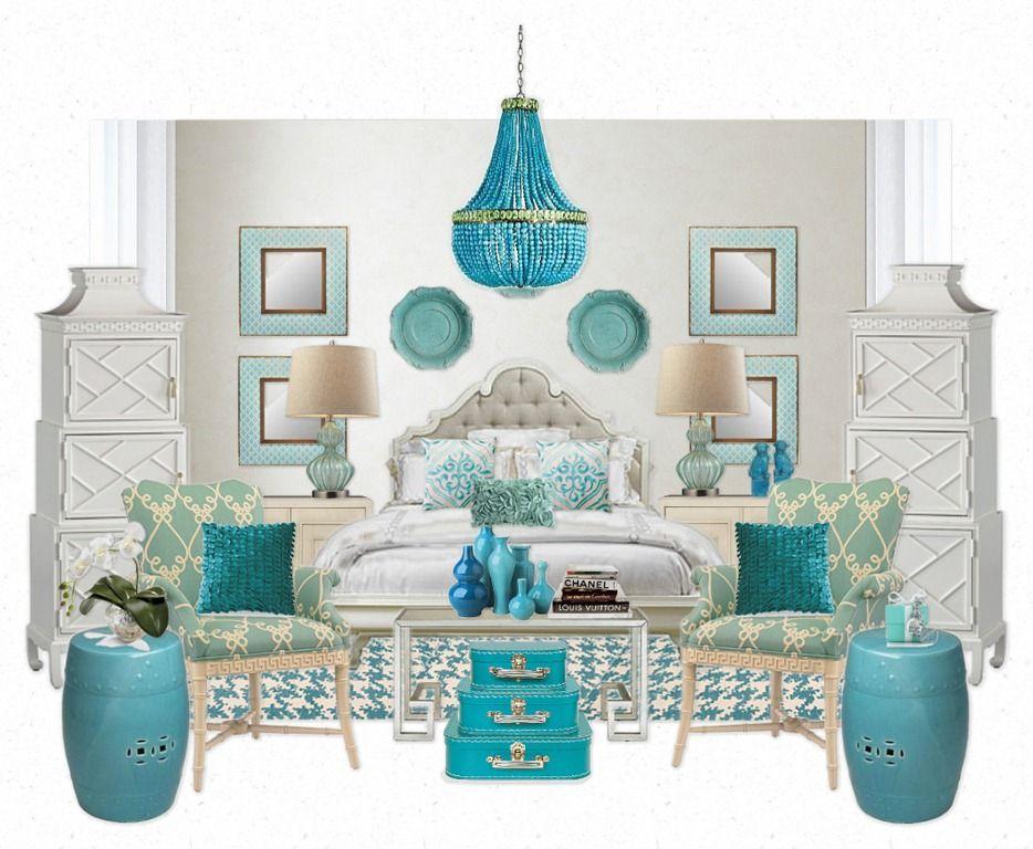 Charming Tiffany Color Bedroom Ideas Part - 13: Tiffany Blue U0026 White Bedroom Ideas.. LOVE This Color Scheme!