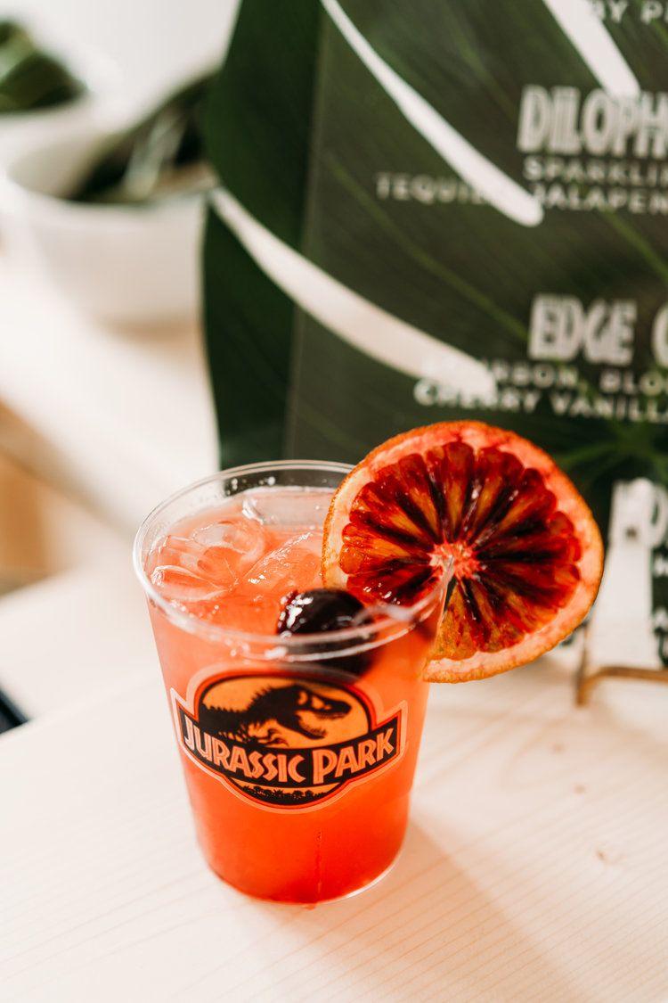 Jurassic Park Cocktail In 2020 Jurassic Park Birthday Park Birthday Jurassic Park