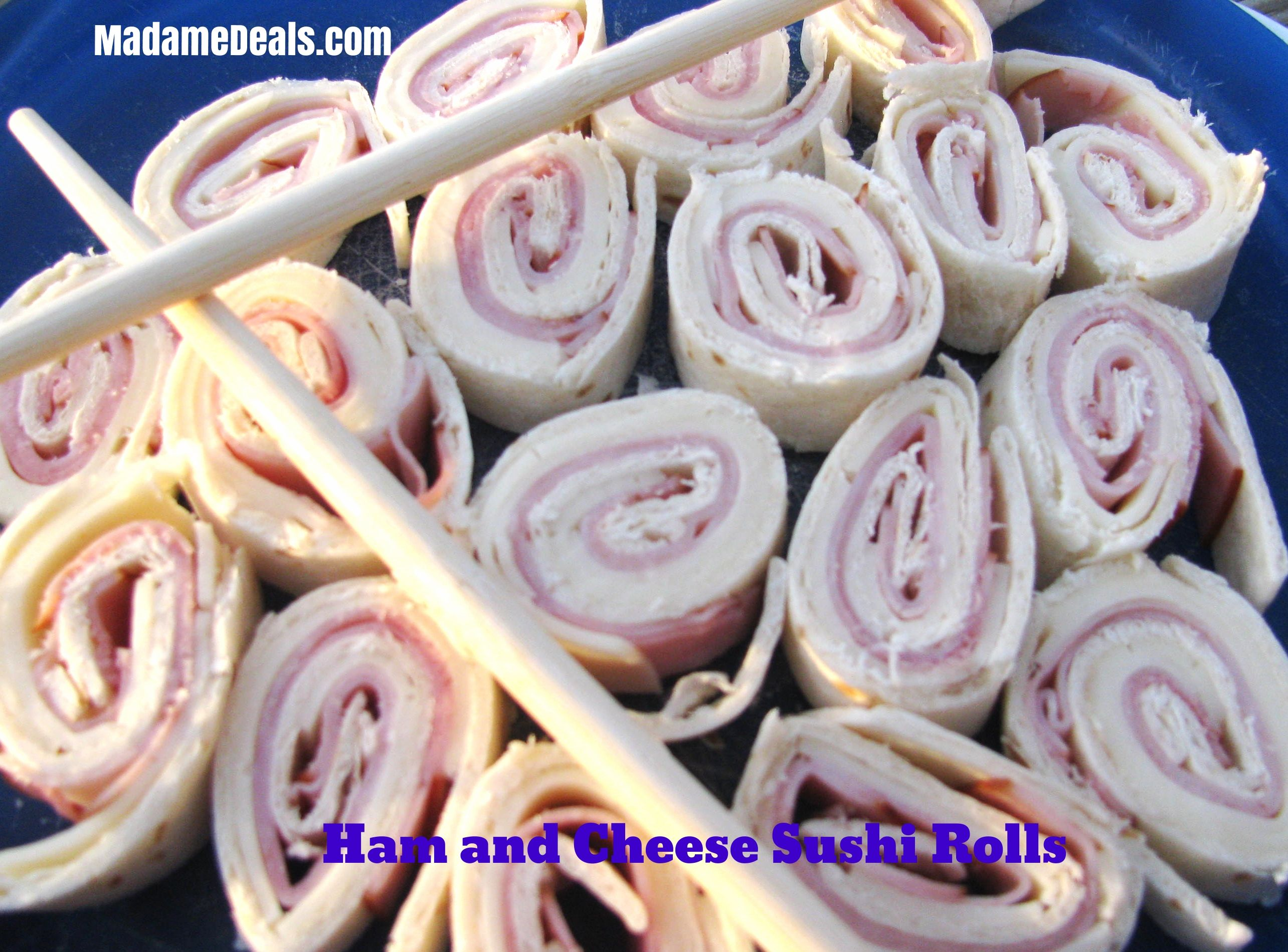 Easy Recipes Kids Can Make Ham And Cheese Sushi Rolls