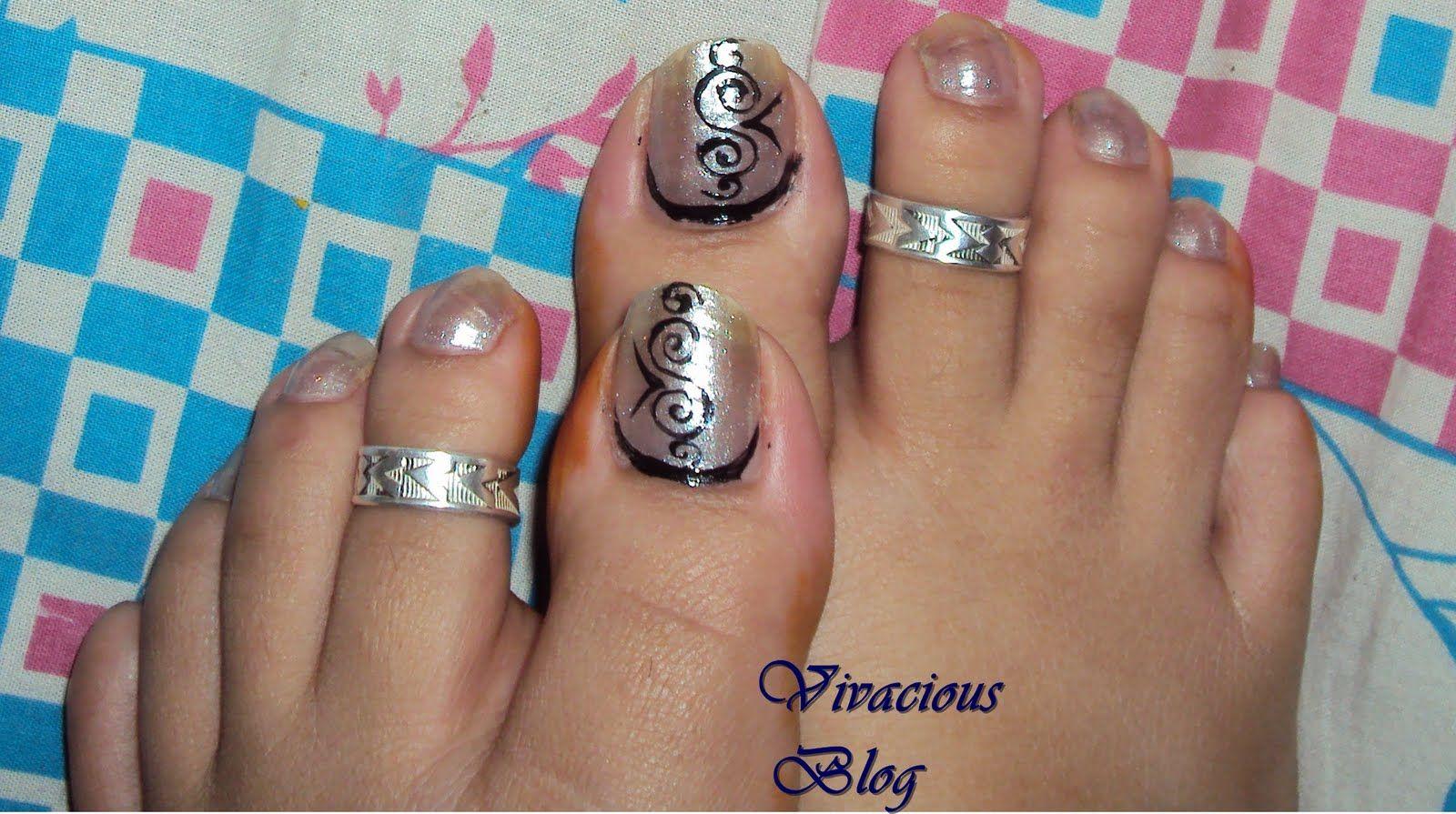 toenail designs | Vivacious Blog: Toe Nail Art | Nails | Pinterest ...