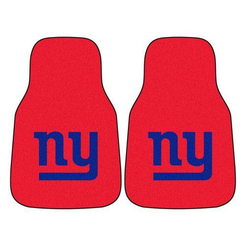 7b7b54d0a3a New York Giants 2-Piece Carpet Car Auto Floor Mats | Products
