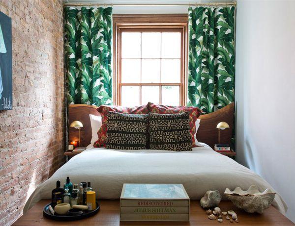 Cortinas Tropicales.Cortinas Tropicales Dormitorios Bedrooms Habitaciones Pequenas