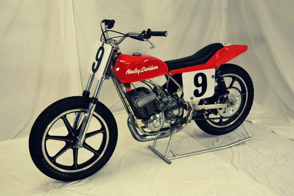 The Silodrome Selection Flat track motorcycle, Flat