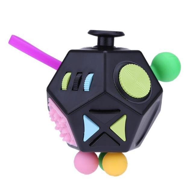 12 Sided Anti Stress Fidget Cube Fidget Cube Cube Toy Stress Cube