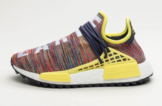 N.E.R.D. X ADIDAS NMD HU PHARRELL WILLIAMS FIRST LOOK