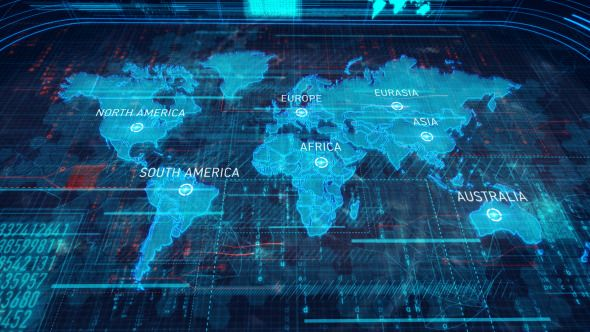 World map motion design template and design inspiration world map by chernu main features ae cs5 cs55 cs6 compatibility full hd 19201080 video tutorial included no plug in required easily customi gumiabroncs Gallery