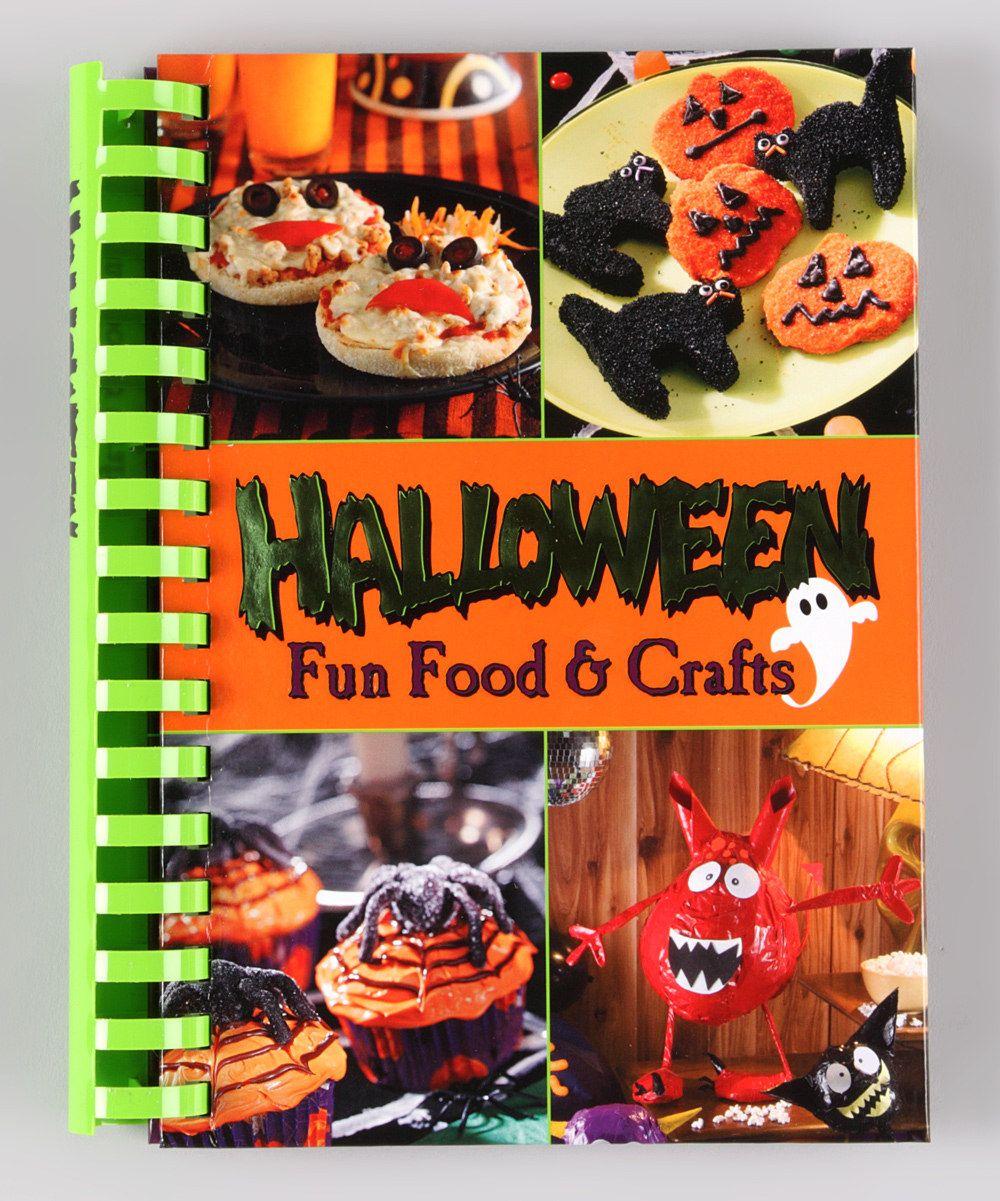 halloween fun food & crafts hardcover | fun foods for grandsons